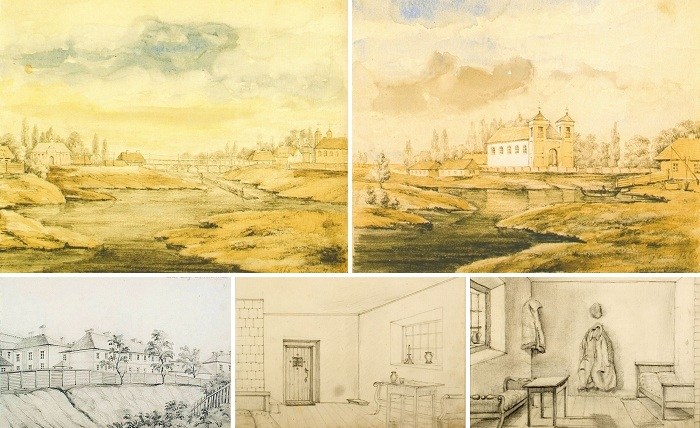 Sketches of Napoleon Orda, Kobryn