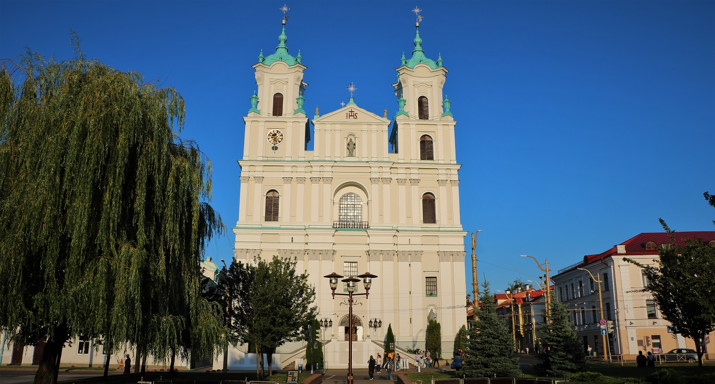 Catholic cathedral of Saint Francis Xavier in Grodno
