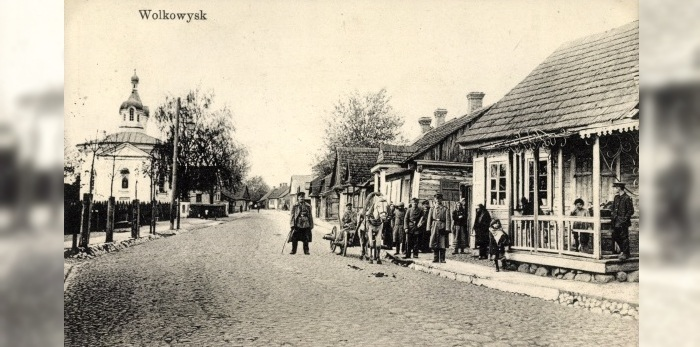 Vawkavysk at the old photos